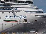 Costa Pacifica Name sign Port of Tallinn 5 August 2018.jpg