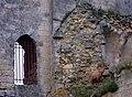 Coucy château (chèvre sur les ruines d'une tour) 3.jpg