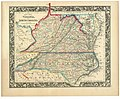 County map of Virginia, and North Carolina. LOC lva0000076.jpg