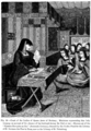 Court of the Ladies of Queen Anne of Brittany Miniature representing this lady weeping on account of the absence of her husband during the Italian war.png