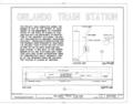 Cover Sheet - Atlantic Coastline Railroad Station, 1402 Sligh Boulevard, Orlando, Orange County, FL HABS FLA,48-ORL,1- (sheet 1 of 6).png