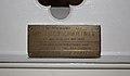 Crabtree (Lucy) plaque, St Charles Borromeo, Aigburth.jpg