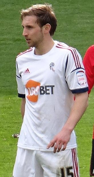 Craig Dawson - Dawson playing for Bolton Wanderers in 2013
