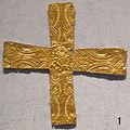 Crocetta d'oro longobarda, da lodi vecchio, VI-VIII sec..JPG