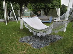 Medium image of crocheted hammock