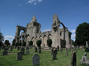 Crowland - Image: Crowland Abbey geograph.org.uk 2499
