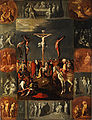 Crucifixion attributed to Frans Francken II.jpg