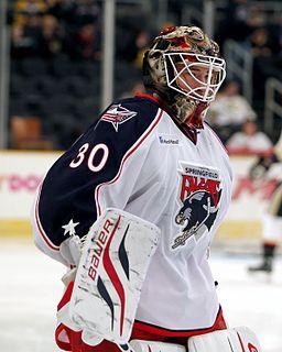 Curtis McElhinney Canadian ice hockey player