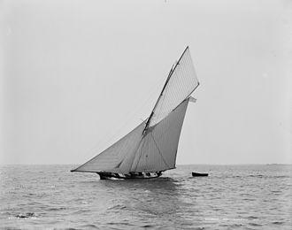 Seawanhaka Corinthian Yacht Club - Cutter Shona raced in the Corinthian Yacht Club, New York