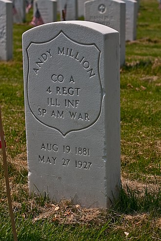 United States Department of Veterans Affairs emblems for headstones and markers - Image: Cypress hills 22