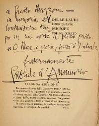 Gabriele D Annunzio Wikiquote