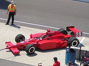 Marty Roth - Roth's car after practicing for the 2007 Indy 500.