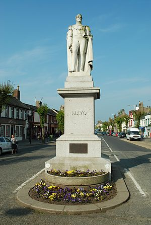 Richard Bourke, 6th Earl of Mayo - Statue of Lord Mayo in the town of Cockermouth