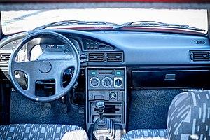 Dacia Nova - Image: Dacia Nova GT Interior