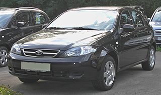 Daewoo Lacetti Compact car