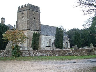 Daglingworth - Daglingworth Church of the Holy Rood