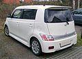 Daihatsu Materia rear 20071211.jpg