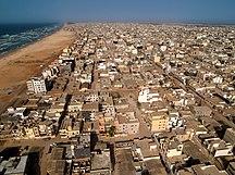 Senegal-Languages-Dakar Roofs - Beach & Ocean (5651584098)