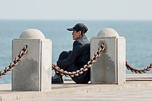 Dalian Liaoning China An-elderly-Chinese-at-Xinghai-Bay-01.jpg