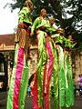 Dancer on Stilts of Karawang Indonesia.jpg