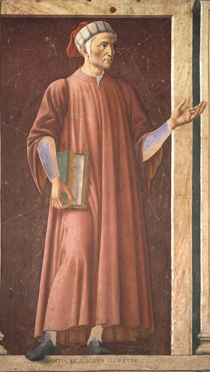 addressing dante alighieri a major italian poet of the middle ages