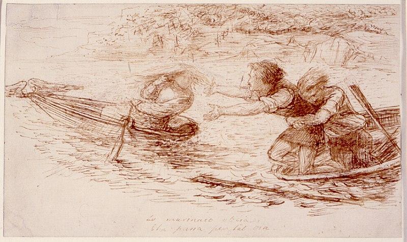 File:Dante Gabriel Rossetti - Boatmen and Siren.jpg