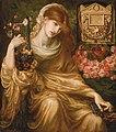 Dante Gabriel Rossetti - La viuda romana (Dîs Manibus).jpg