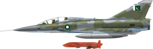 Dassault Mirage IIIDP with Ra'ad missile.png