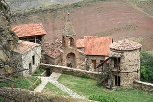David Gareja monastery complex - The monastic complex of David Gareji.