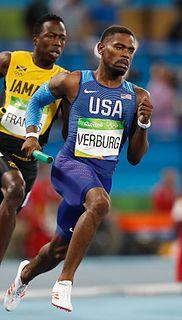 David Verburg American sprinter