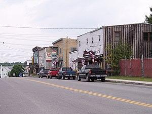 Davis, West Virginia - William Avenue (Route 32) in Davis in 2006