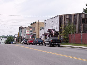 Davis, West Virginia - William Avenue (Route 32) in Davis in 2006
