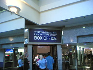 Box office at the Manulife Centre for the Toro...