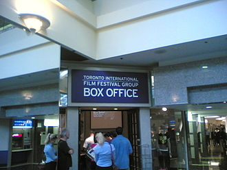 Toronto International Film Festival - TIFF box office at the Manulife Centre in 2006