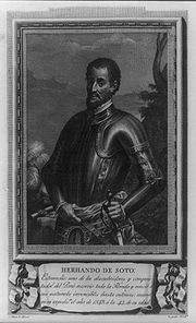 Library of Congress` image of Hernando de Soto