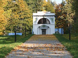 Michael Andreas Barclay de Tolly - Barclay de Tolly Mausoleum in Jõgeveste, southern Estonia
