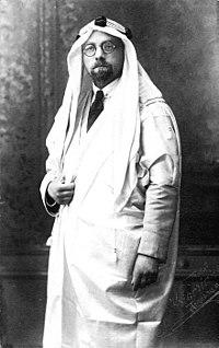 De Haan dressed up as an arab.jpg