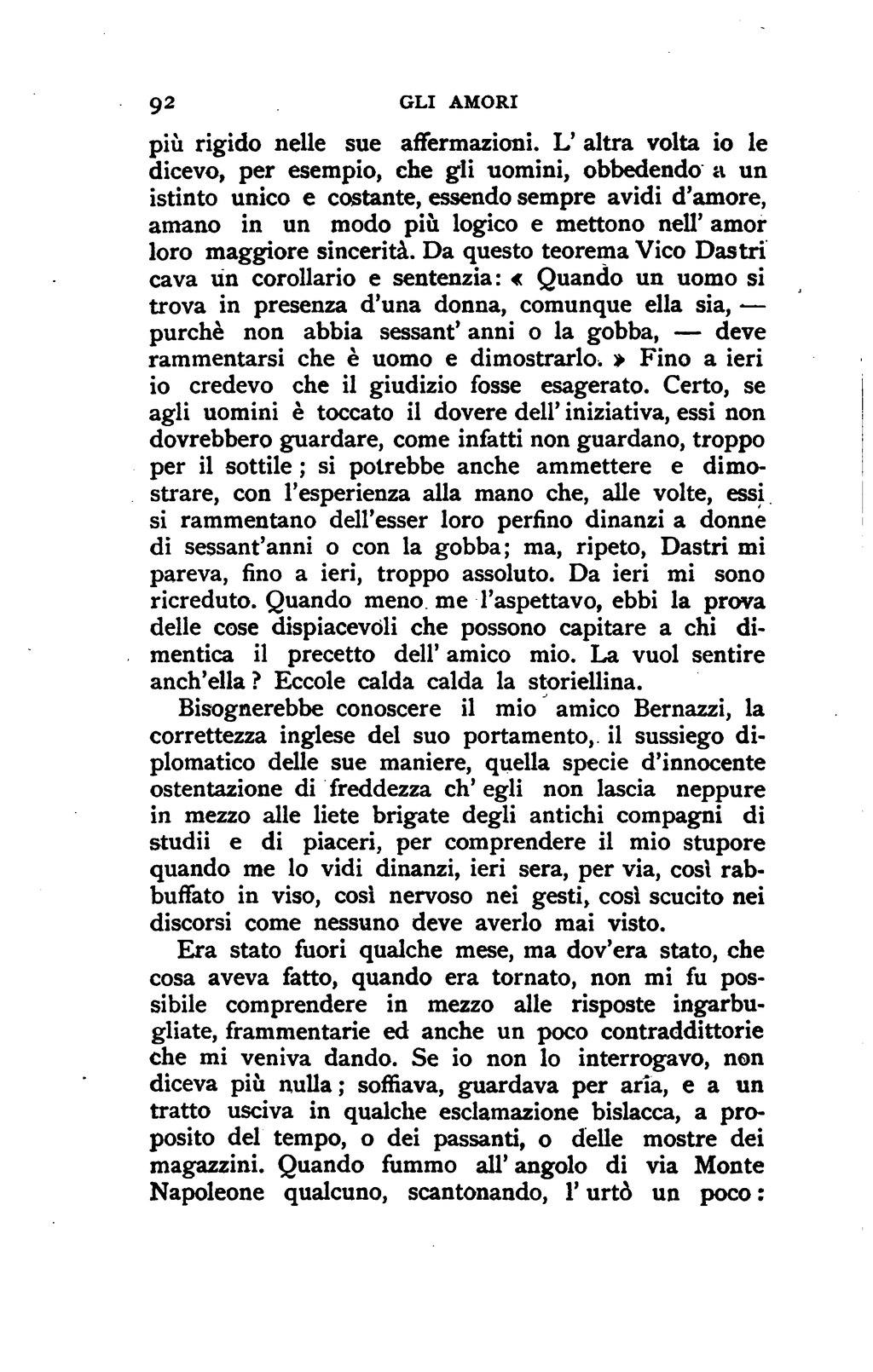 Amori De pagina:de roberto - gli amori.djvu/102 - wikisource