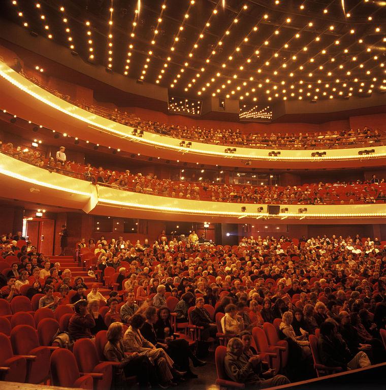 Intérieur de l'opéra d'Amsterdam. Photo de Mandyromme