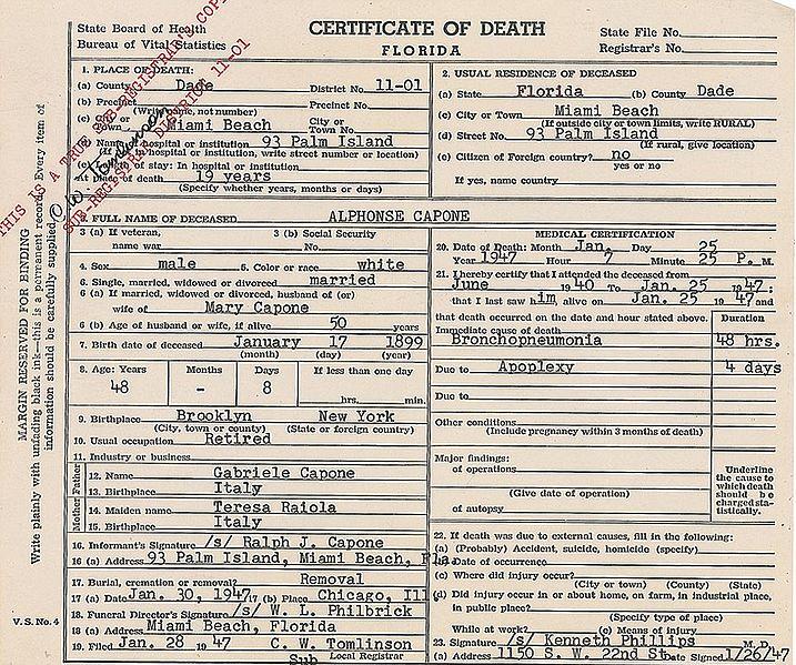 File:Death certificate of Al Capone.jpg