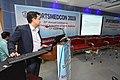 Debabrata Kumar Delivering Lecture - Stress Fracture in Sports - SPORTSMEDCON 2019 - SSKM Hospital - Kolkata 2019-03-17 3656.JPG