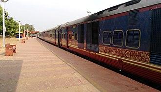 Deccan Odyssey - Image: Deccan Odyssey EOG coach