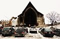 Demolition of Église St-Sauveur (Trinity Episcopal Church) in Montreal 2011 (3).jpg
