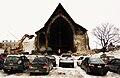 Demolition of Église St-Sauveur (Trinity Episcopal Church) in Montreal 2011 (3).jpg