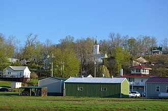 Derby, Indiana - Overview from Mulzer Park