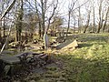 Derelict graveyard in the remains of Llandeilo church - geograph.org.uk - 291795.jpg