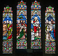Derry St Columb's Cathedral South Aisle Canon Edward George Dougherty Memorial Window 2013 09 17.jpg