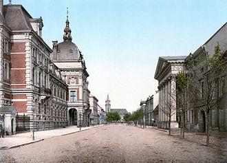 Dessau - Cavalierstrasse in 1900