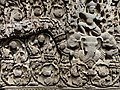 Detail of Sandstone Lintel - Prasat Sralao, Cambodia - 10th Century - Tokyo National Museum - Tokyo - Japan (47898761411).jpg