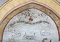 Detail uit het Laatste Oordeel in de zuidelijke transeptarm van de Sint-Genovevakerk van Zepperen - 375879 - onroerenderfgoed.jpg